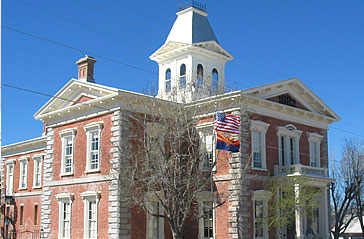 This former courthouse now serves as a local history museum.