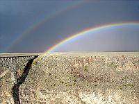 Somewhere Over the Rainbow: Rainbow Over the Bridge