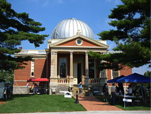 Current photo of the observatory