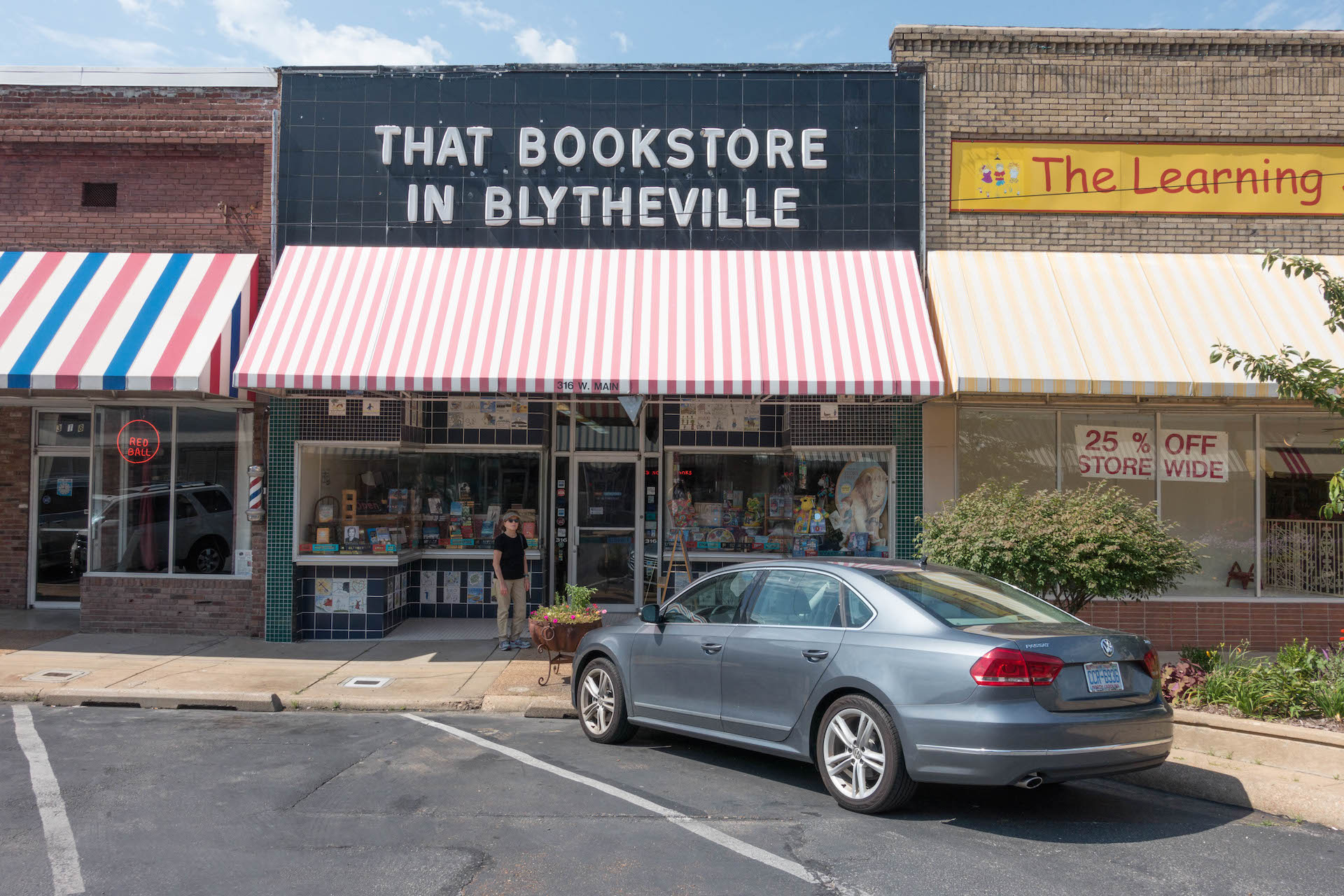 Street view of the bookstore
