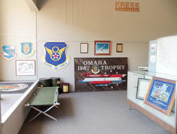 military exhibit in the museum