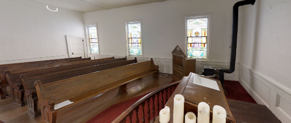Interior of Trinity Evangelical Lutheran Church
