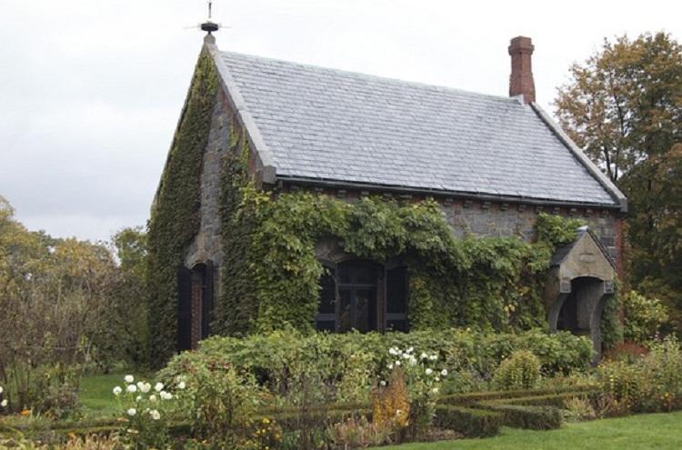 Stone Library at Adams National Historical Park.