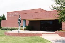Front Entrance of the Ellen Noel Art Museum