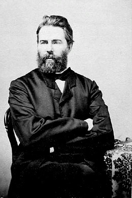 Herman Melville, a novelist, writer of short stories, and poet from the American Renaissance period.