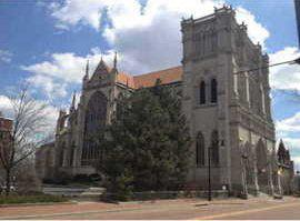 Exterior of cathedral