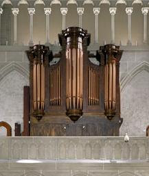 Historic Matthias Schwab organ
