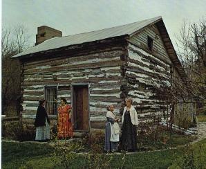 The Miller-Leuser Log House
