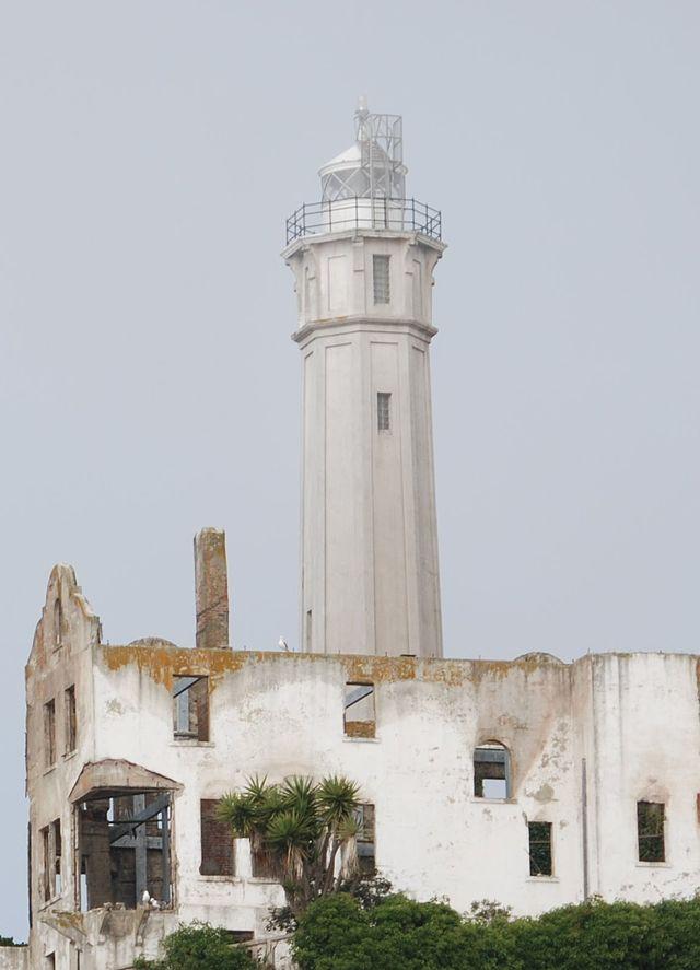 Alcatraz Lighthouse in 2007
