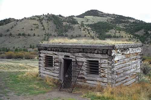 Bannack's jail