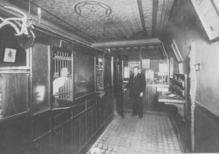 Inside of the Original Bank