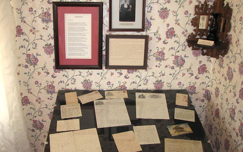 Correspondences of Carrie's. She wrote many letters to politicians, journals, and pamphlets for the sake of her cause.