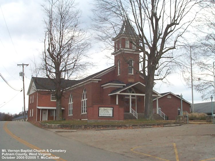 Mt. Vernon Baptist Church as it appears today.