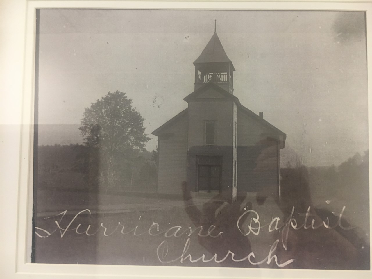 The church at its old location