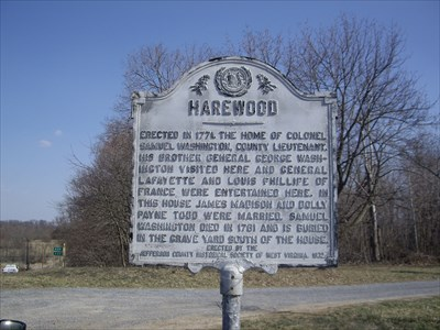 Historical Marker of Harewood