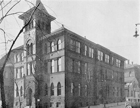 The Cathedral Parish School in the 1920s