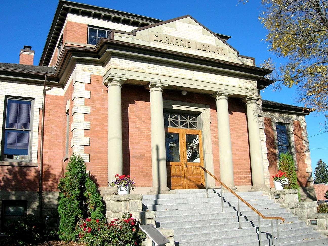 The Bozeman Carnegie Library, now the home of the Cok Kinzler law firm.