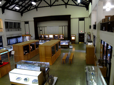 View inside the museum.