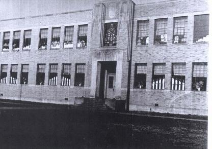 McKinley Middle School in the 1940s.