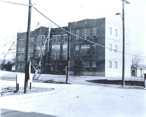 Hansford Elementary, 1940s