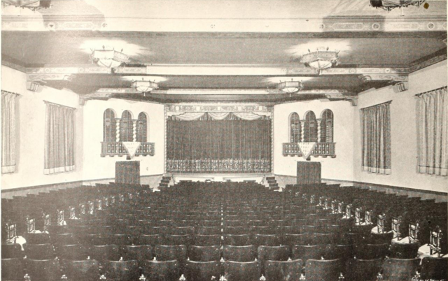 Older view of the auditorium.