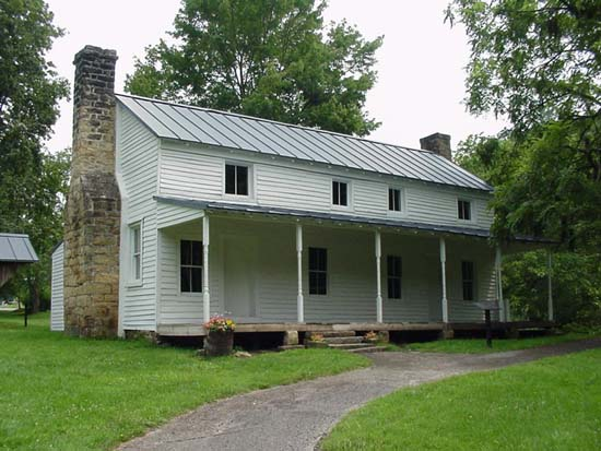 """Cunningham House"" by United States Army Corps of Engineers"