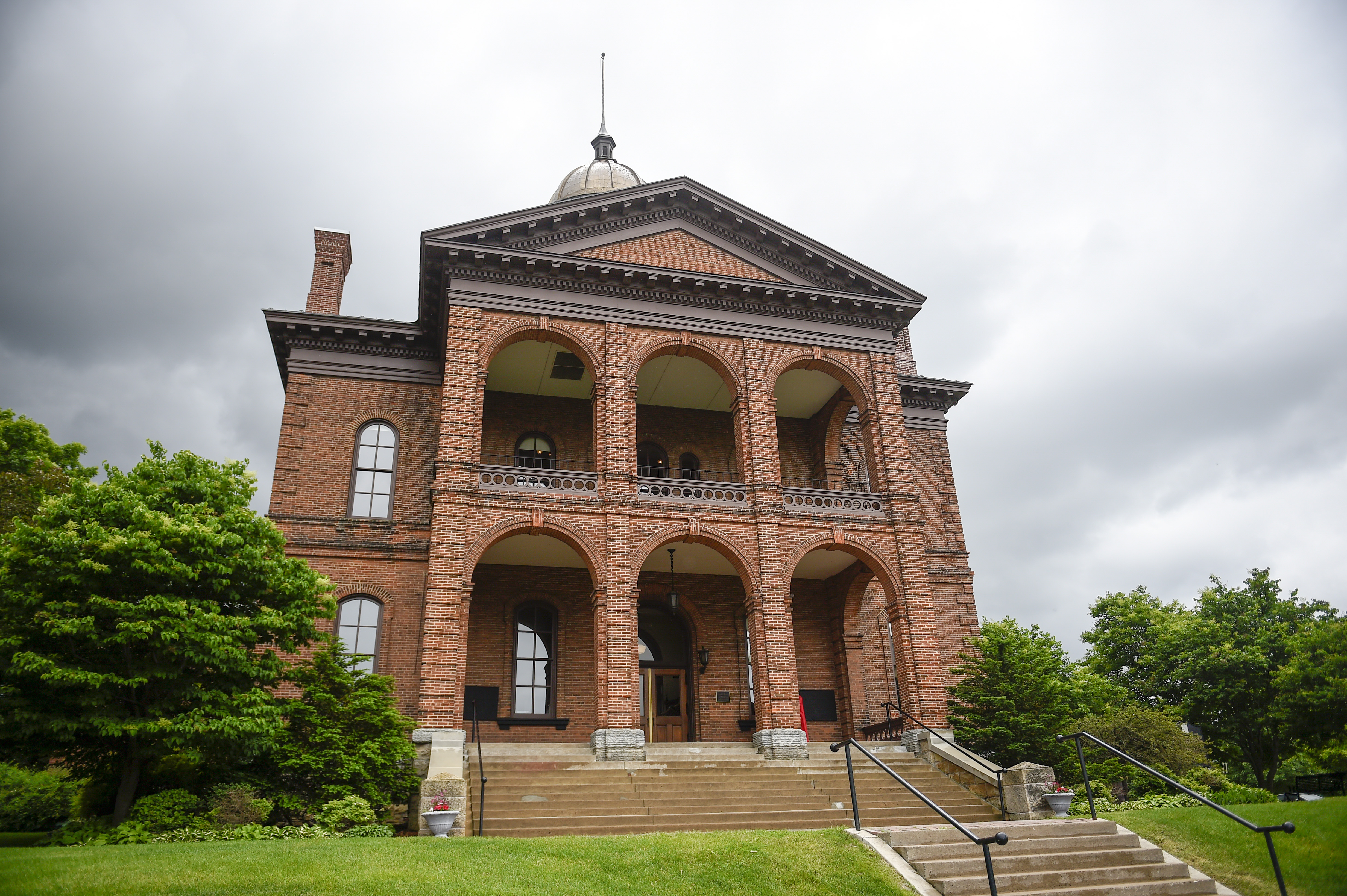 Construction of the Washington County Historic Courthouse began in 1867 and was completed in 1870.