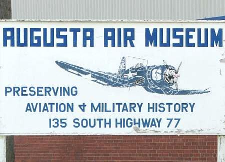 Kansas Museum of Military History -  Augusta, Kansas.