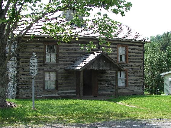 Levi Shinn's Log House