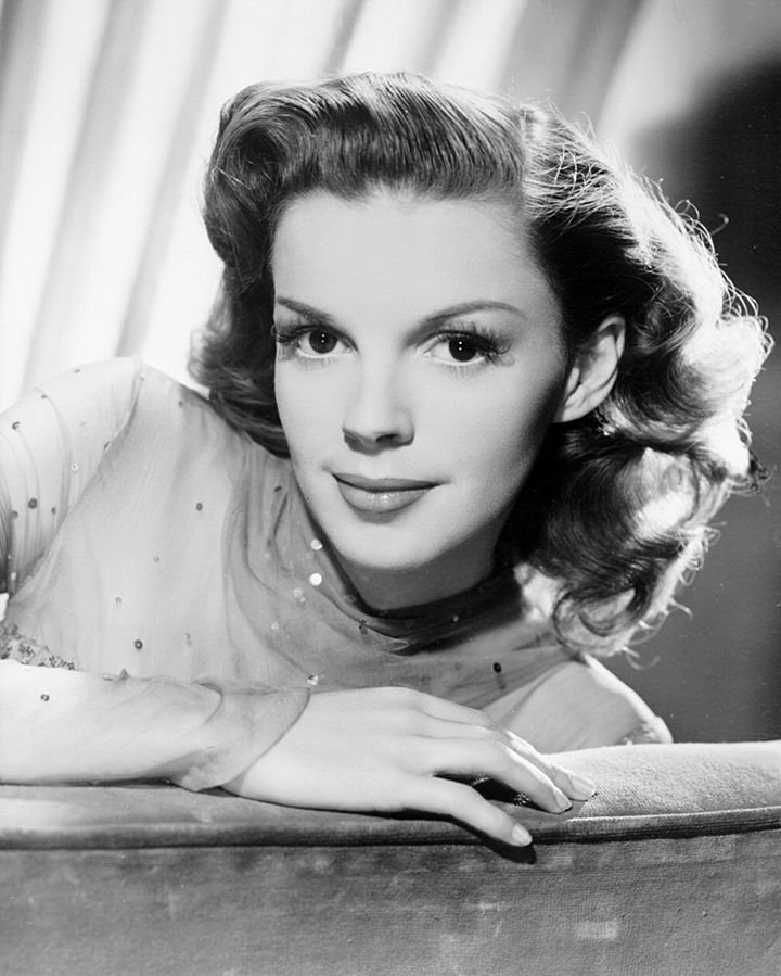 """As for my feelings toward 'Over the Rainbow,' it's become part of my life. It is so symbolic of all my dreams and wishes that I'm sure that's why people sometimes get tears in their eyes when they hear it."" Judy Garland, pictured here in 1945."