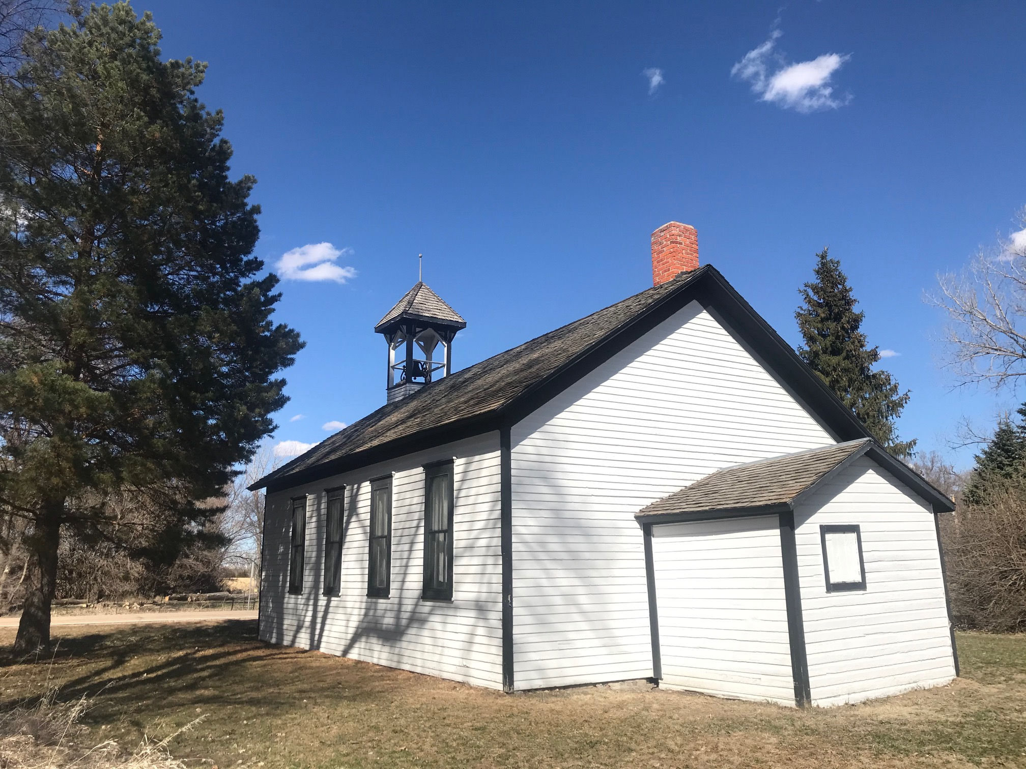 New Helena schoolhouse