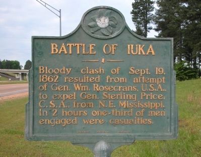 The Union victory near this sign prevented the Confederates from launching an anticipated offensive through central Tennessee.