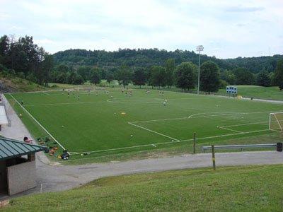 Schoenbaum Soccer Stadium, also a venue for area lacrosse teams.