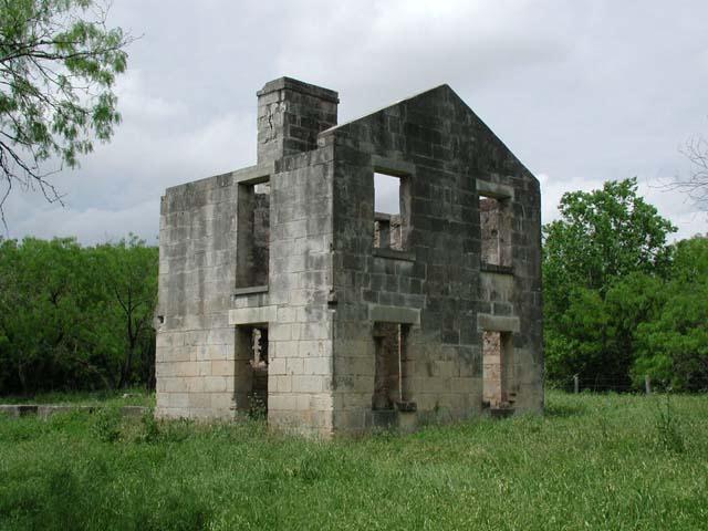 McKinney Homestead Ruins
