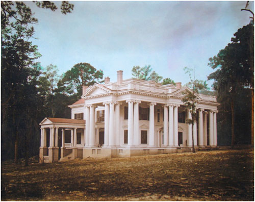 The original mansion was built in 1907.