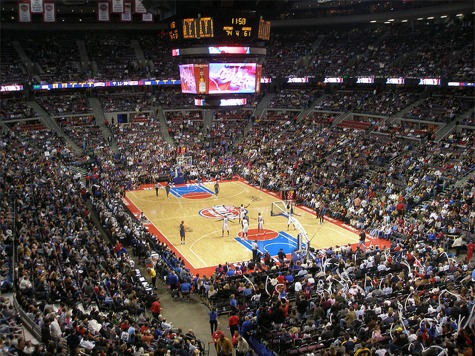 Inside of The Palace of Auburn Hills