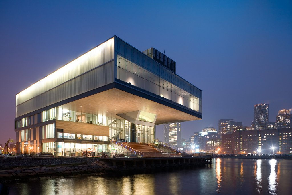 The Institute of Contemporary Art opened in 1948 and moved into to this building in 2006.