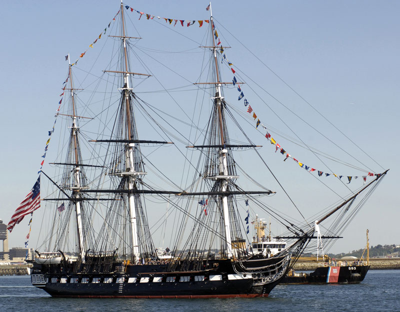 Photo of the USS Constitution today