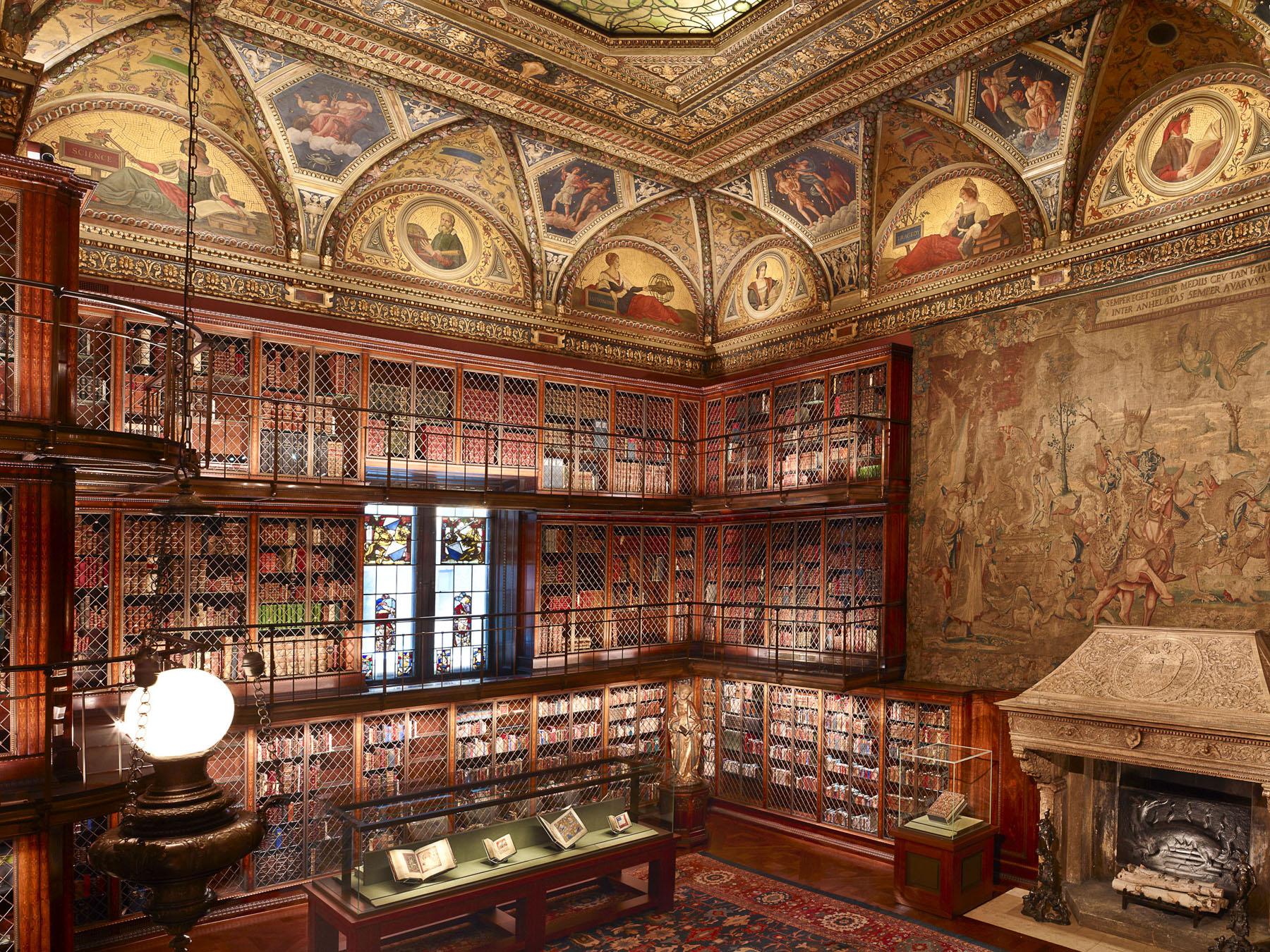 Interior of the Morgan Library