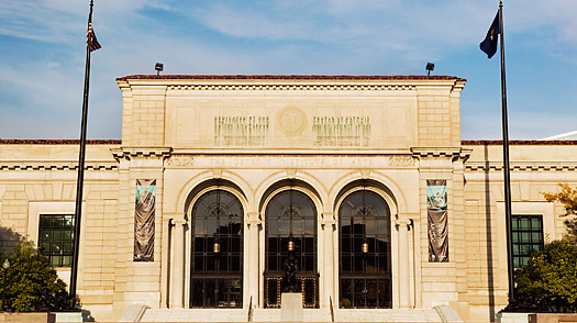 The Detroit Institute of Arts was founded in 1888 and moved to this location in 1927.
