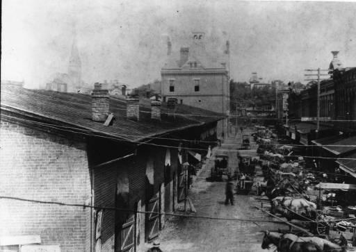 Market House in 1896.