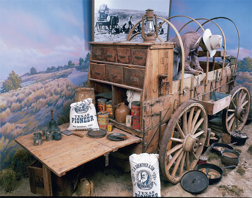 Authentic Chuck Wagon