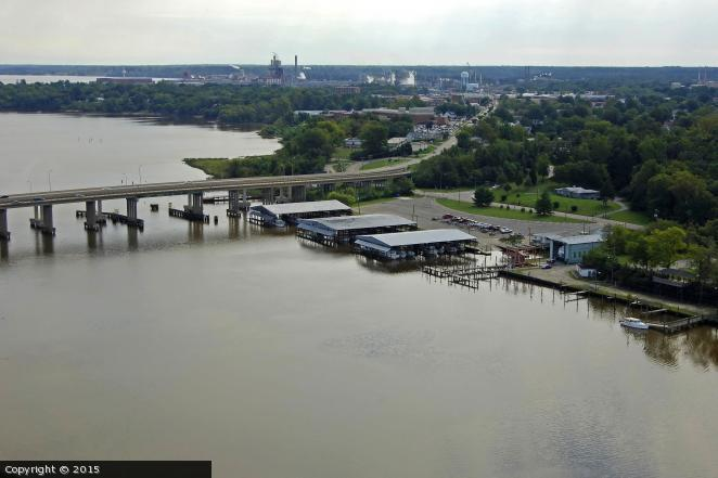 City Point and the James River