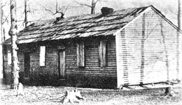 First building of Berea College 1855.