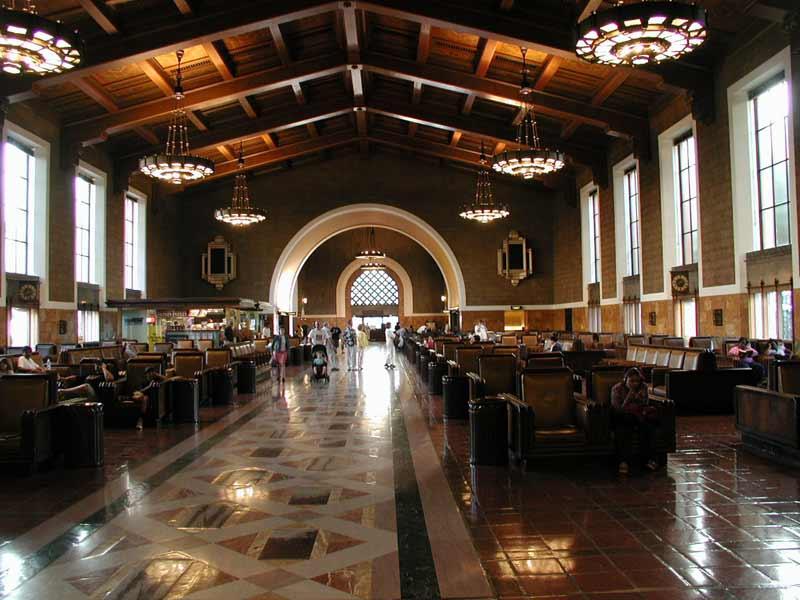 Inside Union Station today.