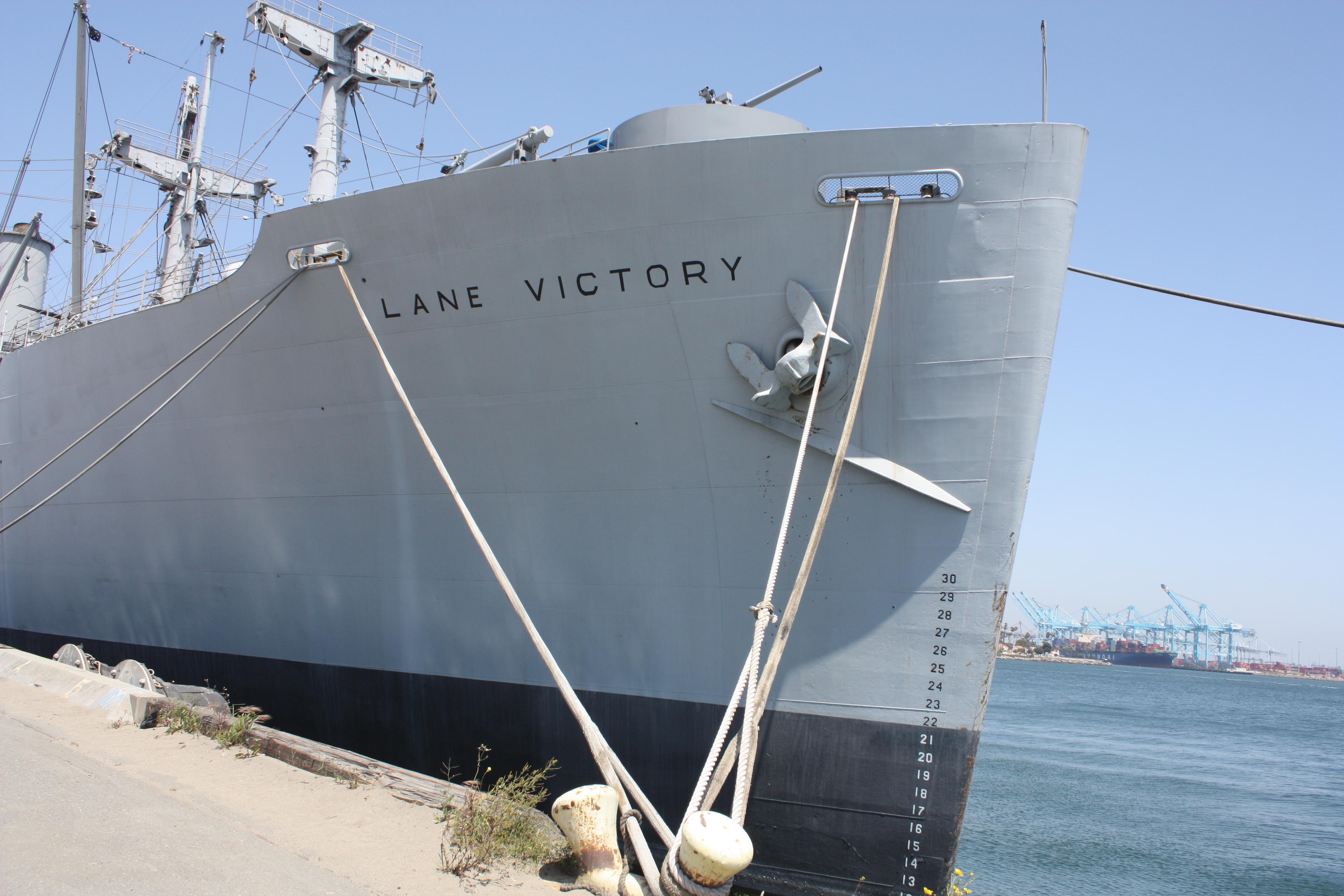 SS Lane Victory.