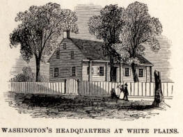 Drawing of George Washington's Headquarters