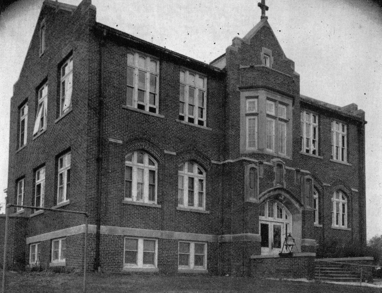 St. Mary of the Visitation School, 1940s.