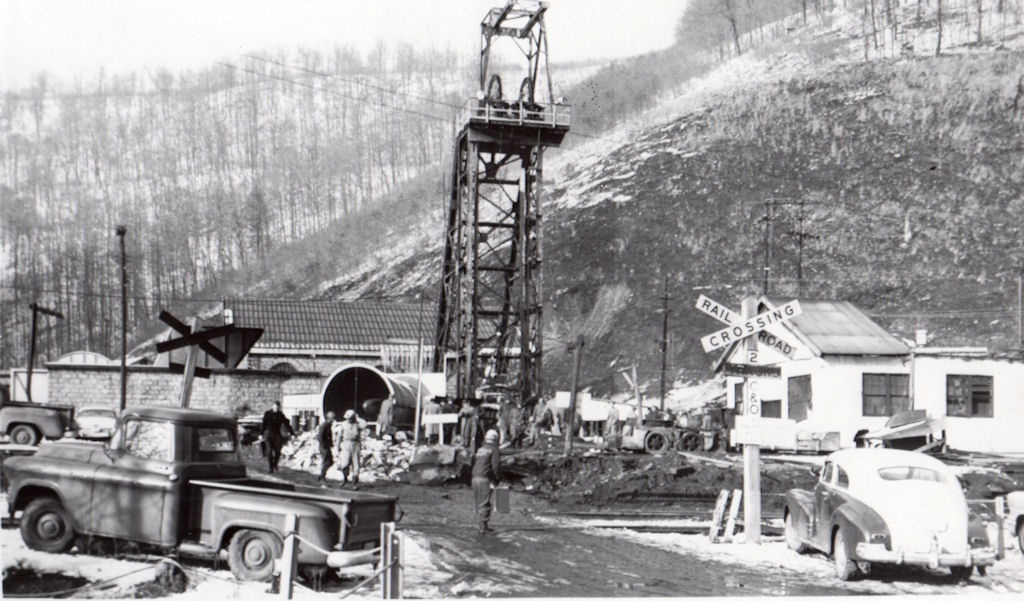 Holden, WV March 8, 1960 Island Creek No. 22 Mine where 18 miners were killed.