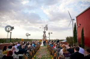 Rustic Wedding at the American Wind Power Center and Museum